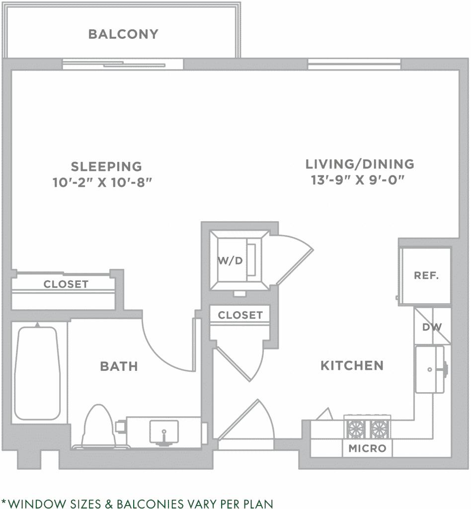 S2 Serene Los Angeles Studio Apartment Alexan Bahay