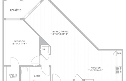 One-Bedroom Los Angeles Apartment