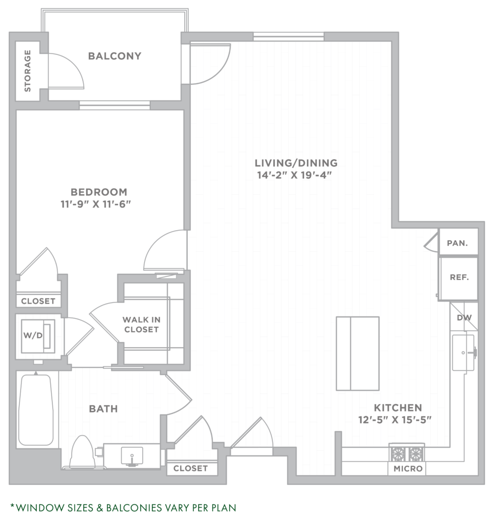 Los Angeles one-bedroom apartments